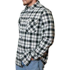 Anchorage Expedition Brawny Flannel Plaid Shirt L